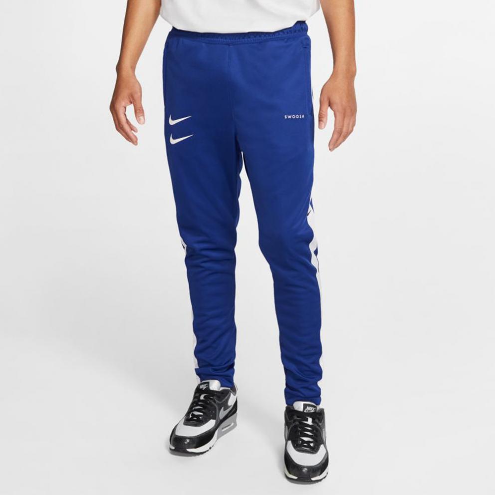 Hacer la cama lámpara Susurro  Nike Sportswear Swoosh Pants DEEP ROYAL BLUE/WHITE/BLACK/WHITE CJ4873-455
