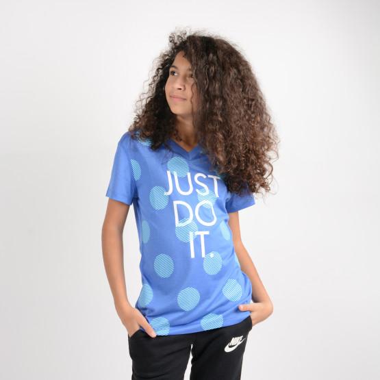 Nike G DRY TEE SS POLKA DOT JDI