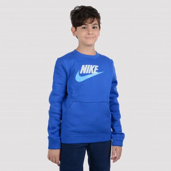 Nike B Nsw Ls Crew Club Flc Hbr
