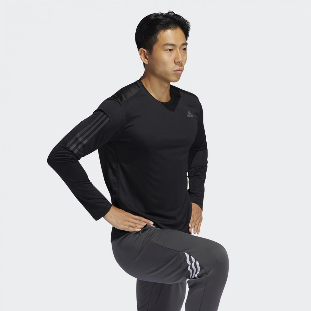 adidas Performance Own The Run Ανδρική Μπλούζα με Μακρύ Μανίκι