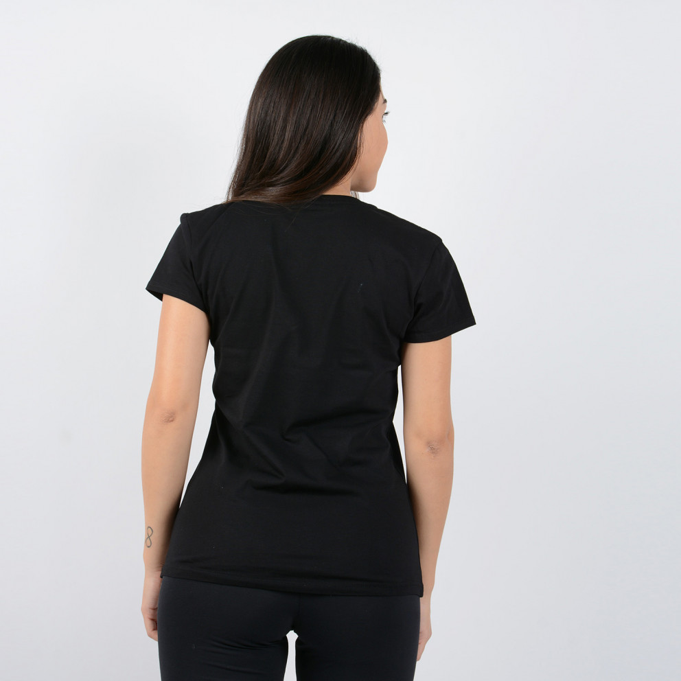 """OFI Crete F.C. """"Heraklion"""" Women's V-Neck T-Shirt"""