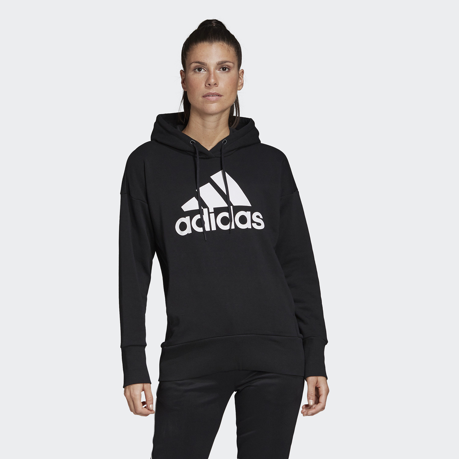 Adidas Badge Of Sport Long Hoodie (9000045368_1480)