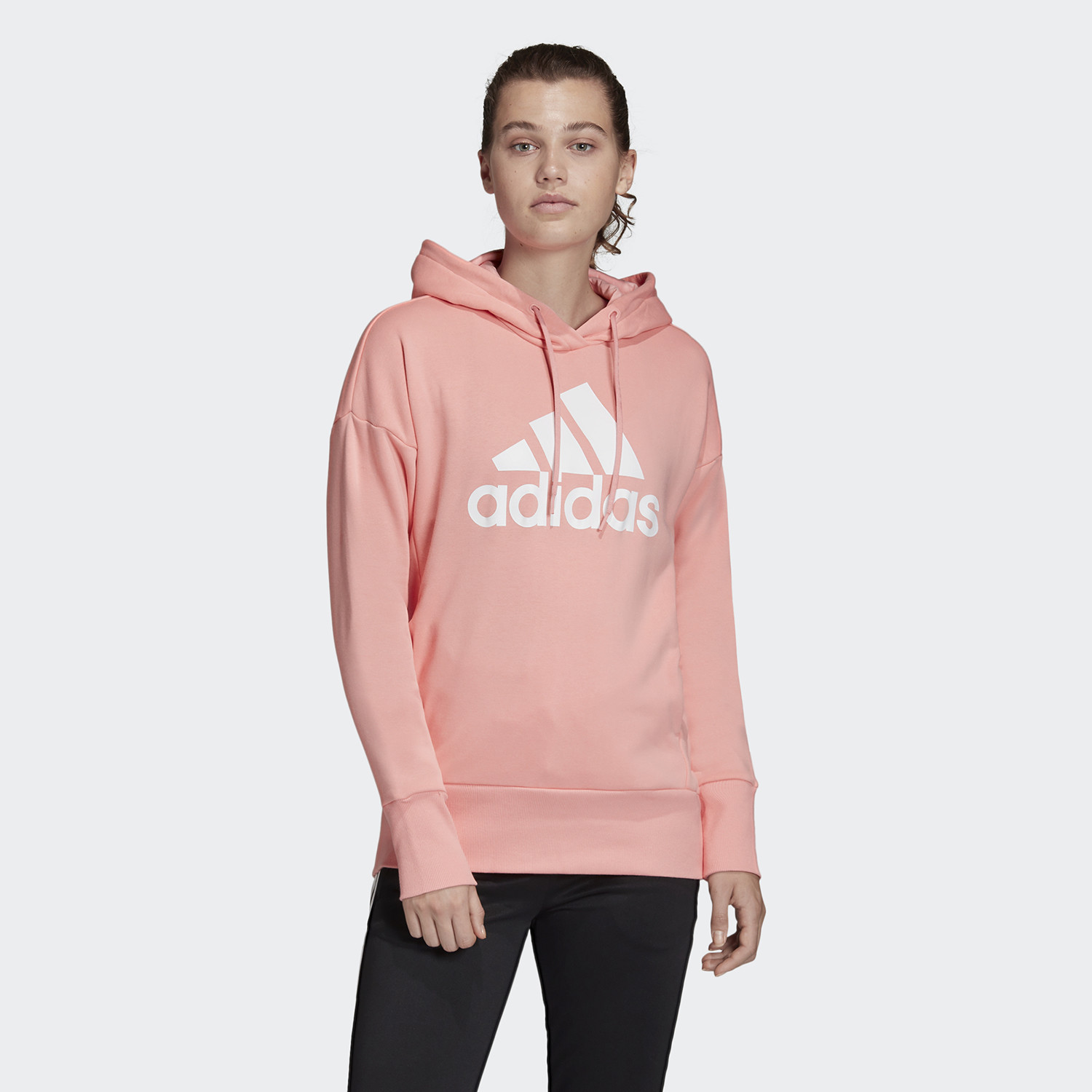 Adidas Badge Of Sport Long Hoodie (9000045369_39758)