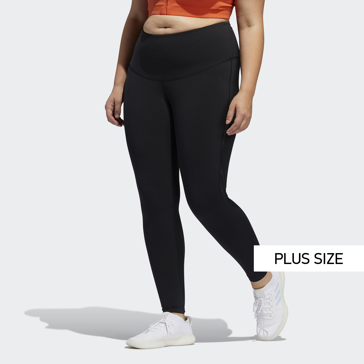 adidas Performance Believe This Solid 7/8 Plus Size Tights (9000046729_1469)
