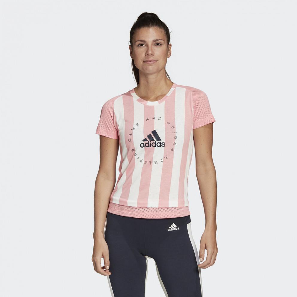 adidas Performance Logo Stripe Women'S T-Shirt