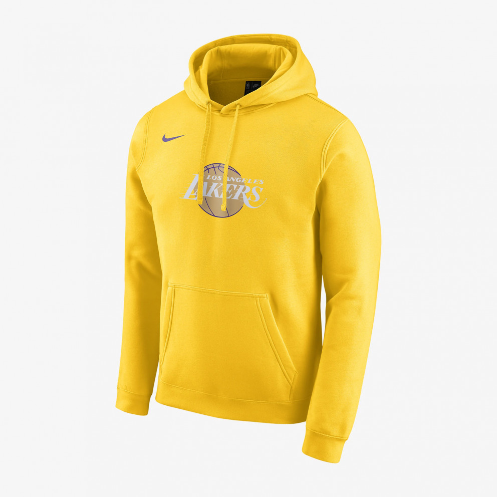 Nike Men's Lakers City Edition Logo NBA Hoodie