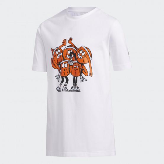 adidas Performance Lil Stripe Team Kids T-Shirt