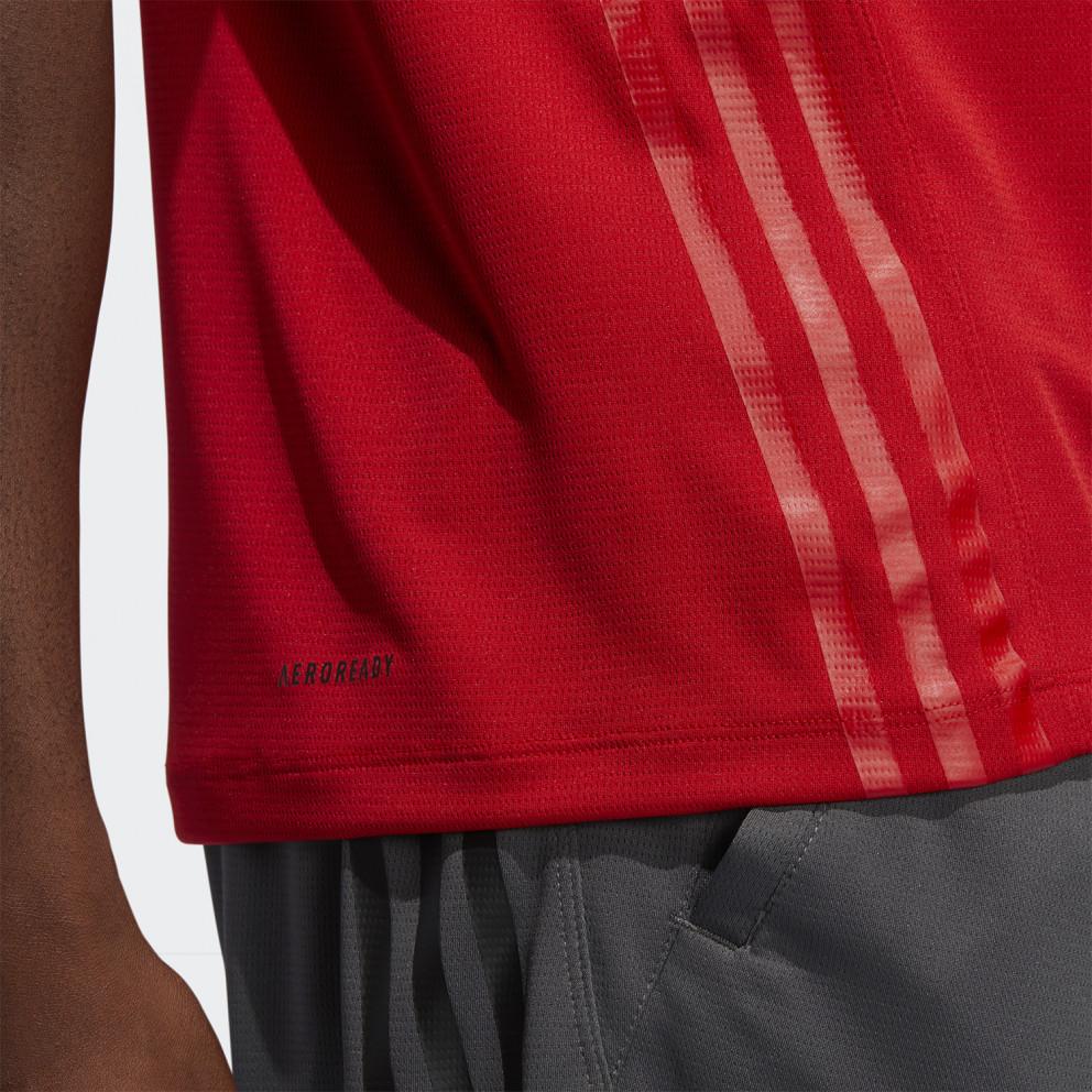 adidas Performance Aeroready 3-Stripes Men's T-Shirt