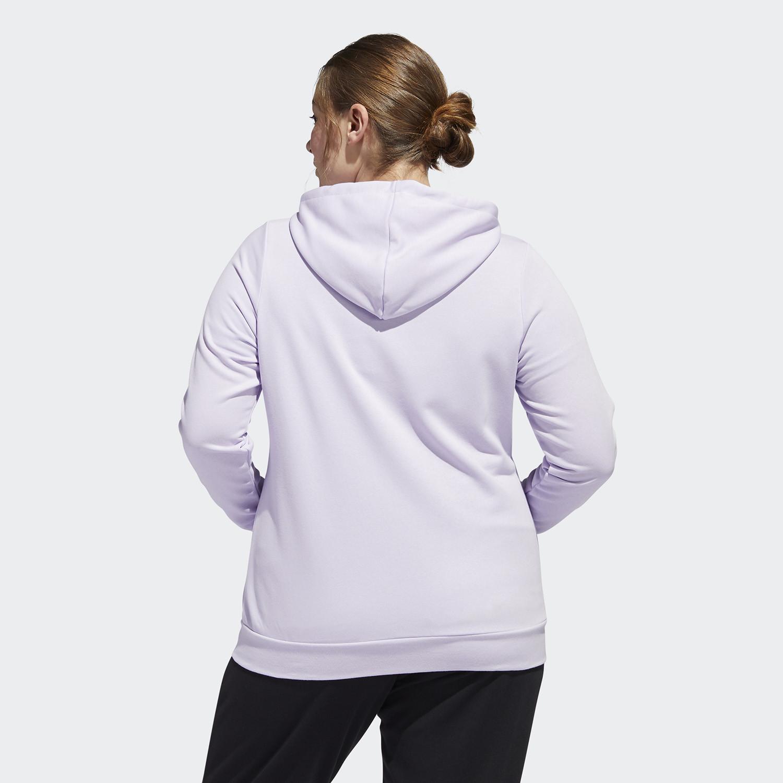 adidas Performance Essentials Plus Size Hooded Track Jacket (9000045824_43520)