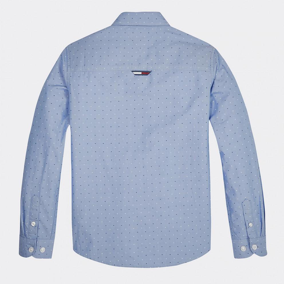 Tommy Jeans Mini Print Hilfiger Shirt L/s