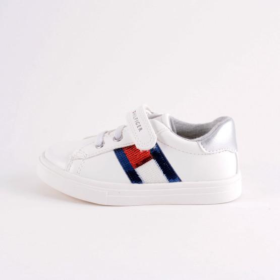 Tommy Jeans Low Cut Lace-Up Velcro Sneaker