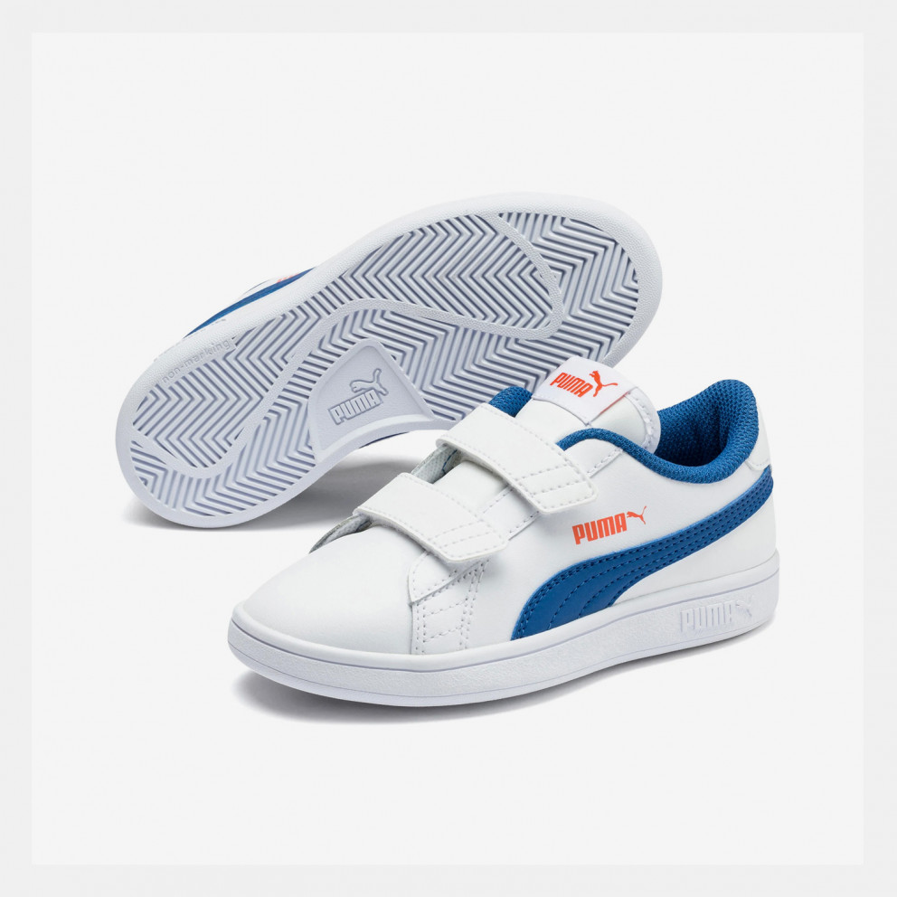 Puma Smash V2 Leather Kids' Shoes