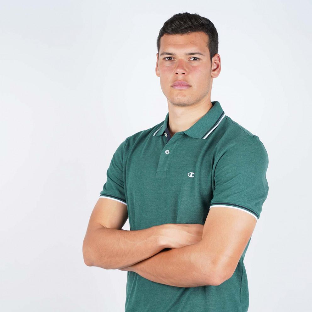 Champion Men's Polo - Ανδρικό Πόλο Μπλουζάκι