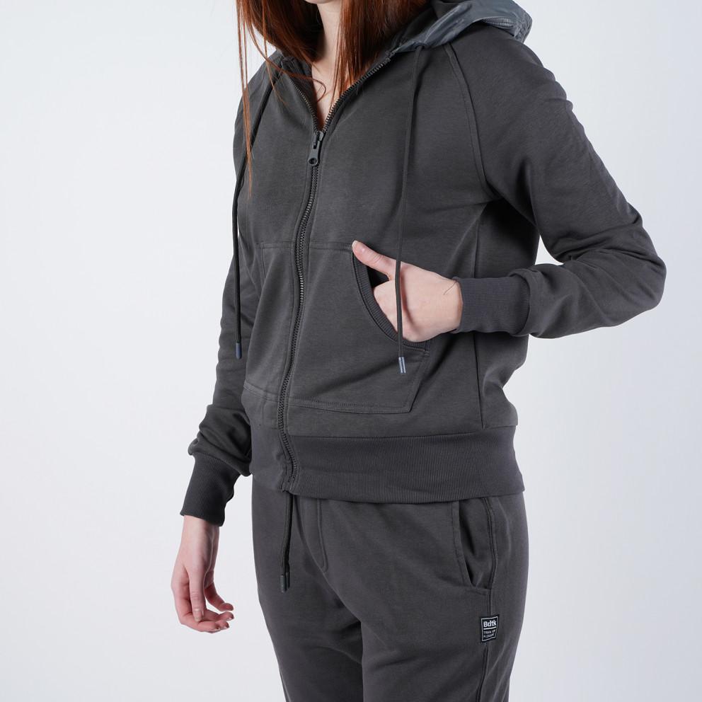 Bodytalk Women's Loose Hooded Zip Sweater