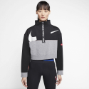 Nike W DRY GT FT FLC TOP ICNCLSH