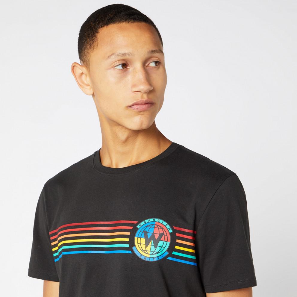 Wrangler Vintage Globe Graphic Men'S T-Shirt
