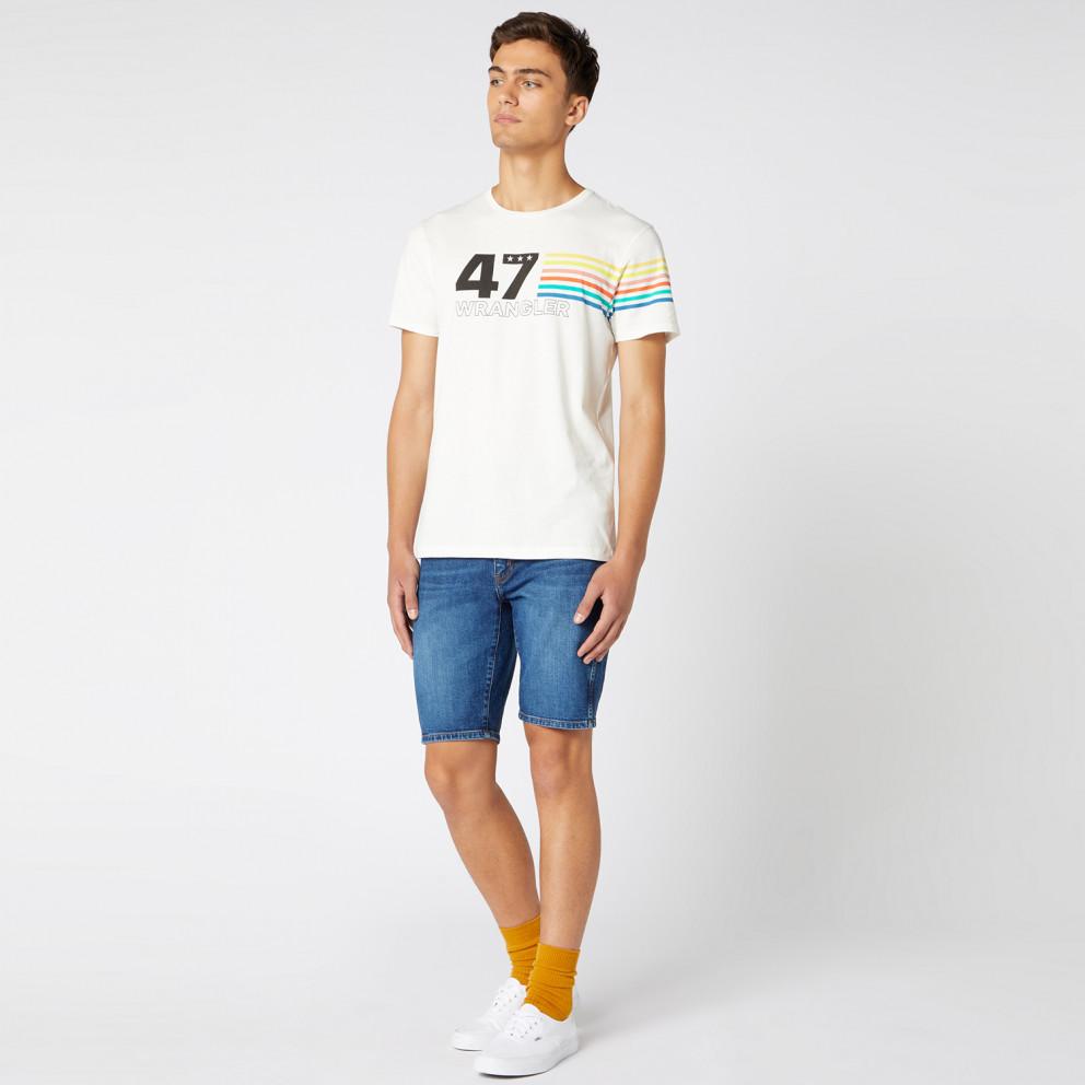 Wrangler Men'S Short SLeeve Rainbow Tee