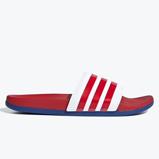 adidas Performance Men's Adilette Cloudfoam Plus Stripes Slides