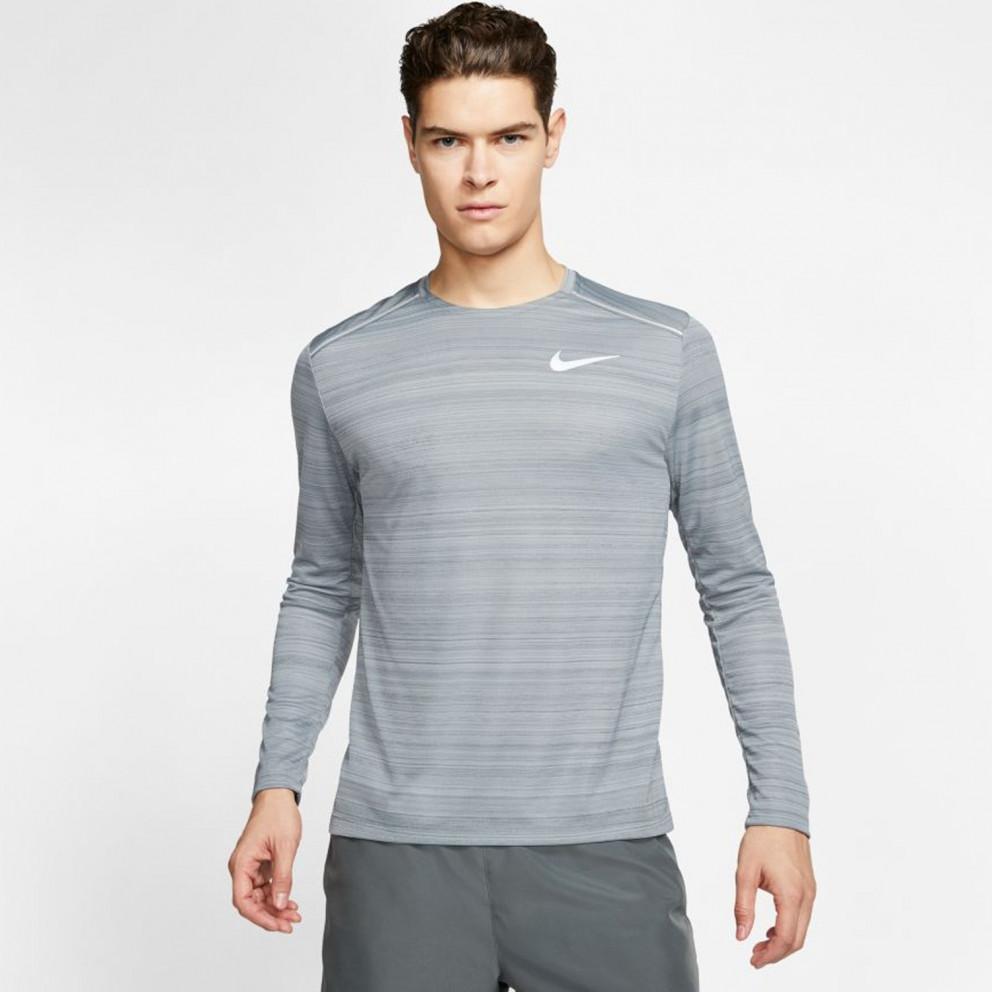 Nike Men'S Long- SLeeve Dri- Fit Miler Top
