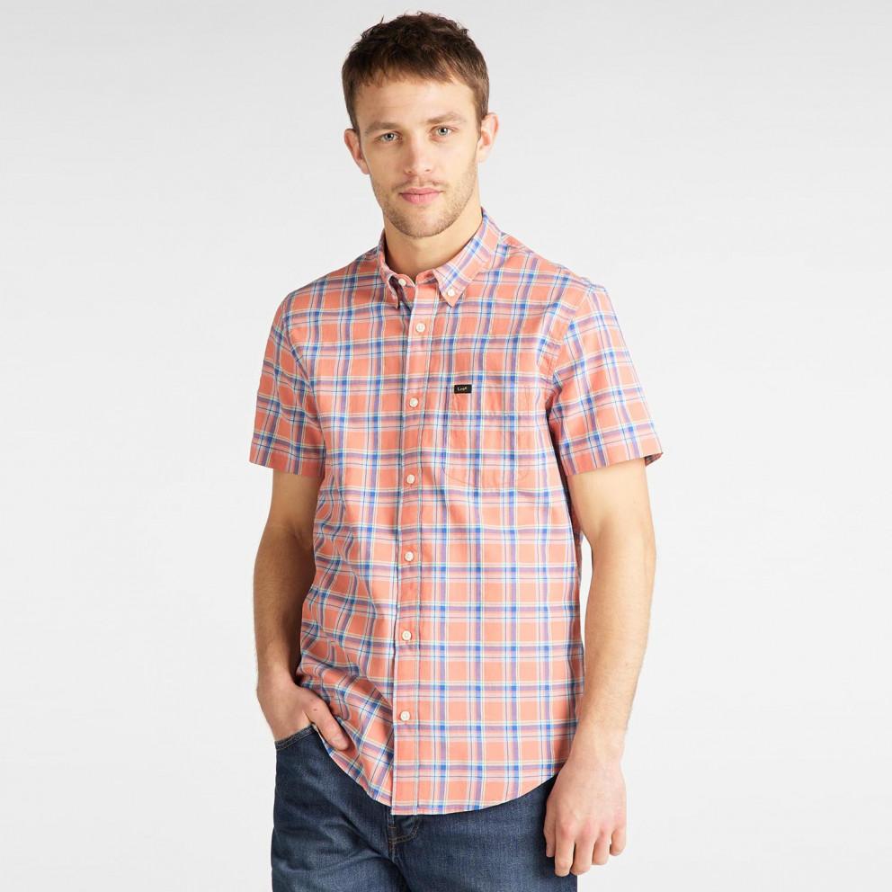 Lee Men's Short SLeeve Button Down Shirt