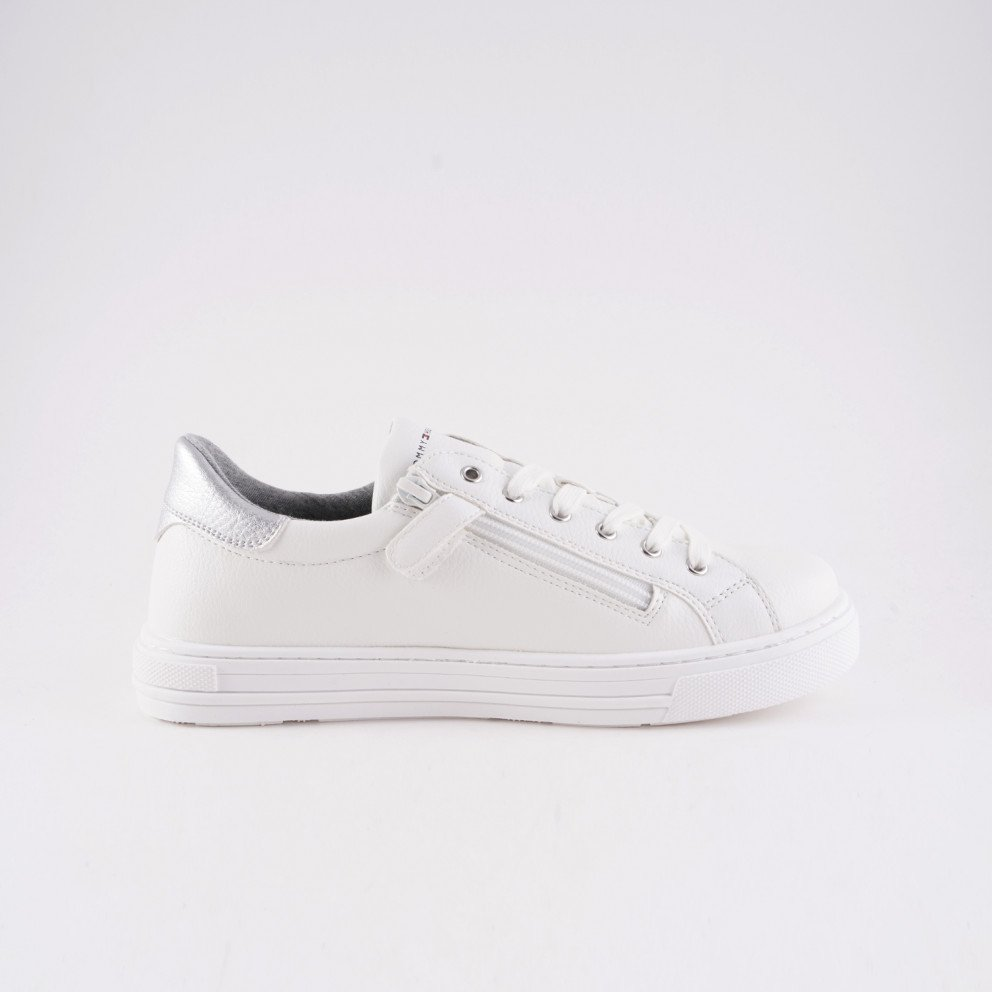 Tommy Jeans Low Cut Lace-Up Glitter Sneakers