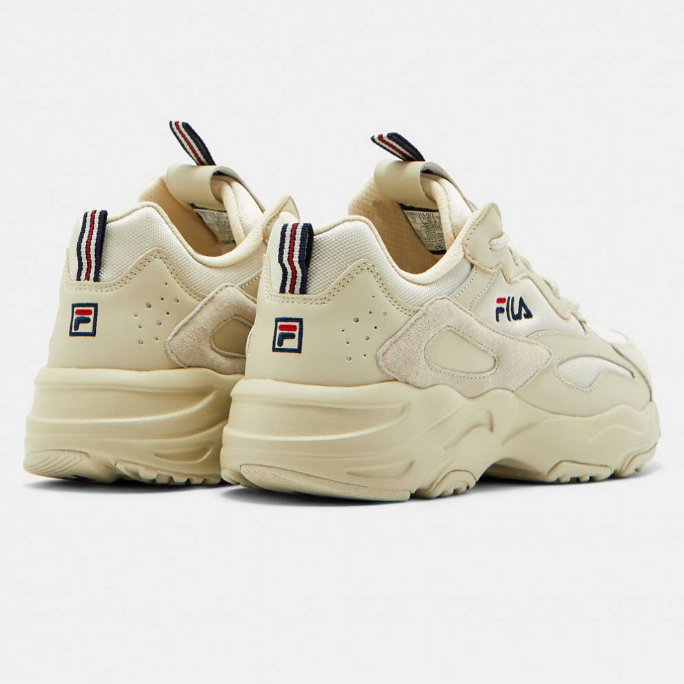 Fila Heritage Men's Ray Tracer Cement Trainers