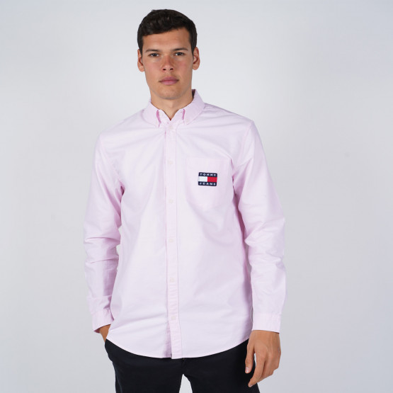 Tommy Jeans Oxford Badge Men's Shirt