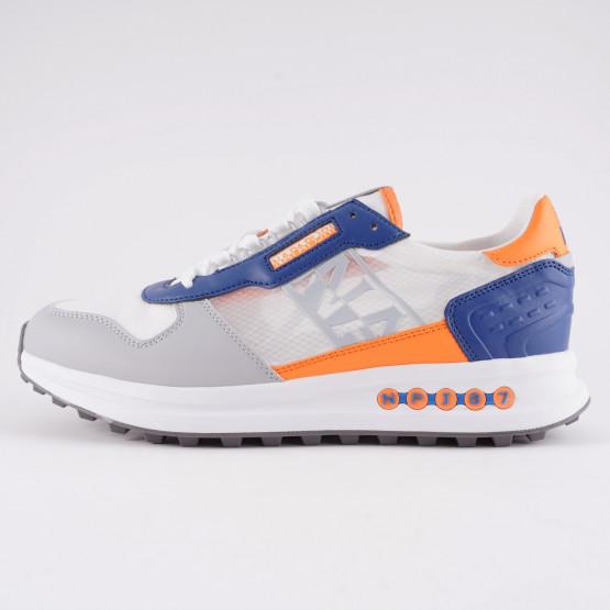 Napapijri Grey/avio/orange Men's Shoes