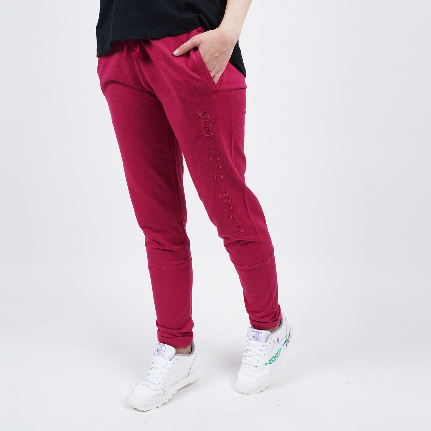 Body Action Women's Skinny Joggers (9000050087_8527)