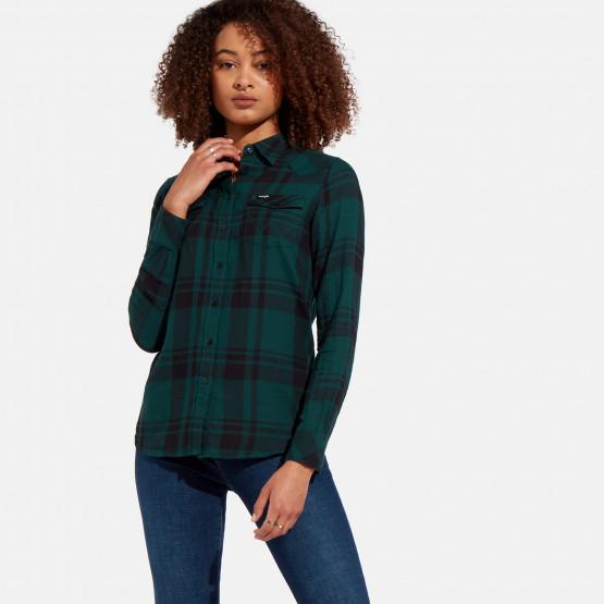 Wrangler Western Check Shirt Pine