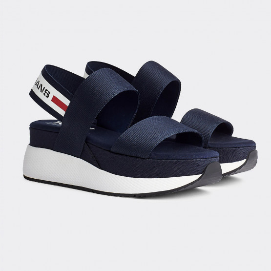 Tommy Jeans Chunky Tape Women's Platform Sandals