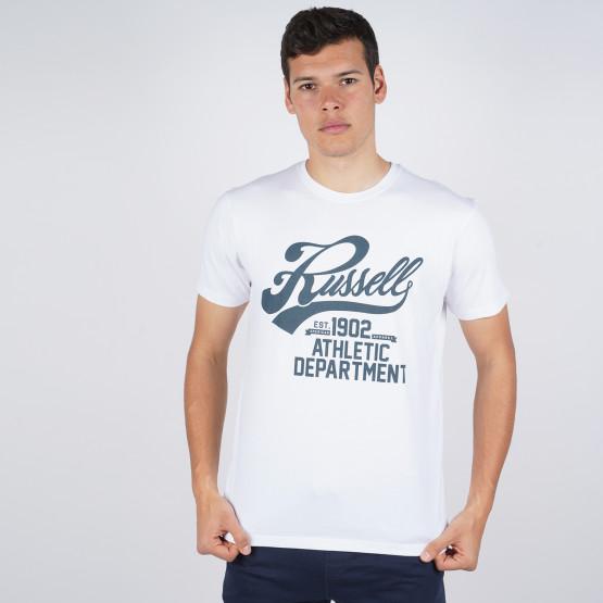 Russell Athletic Script Crewneck Men's T-Shirt