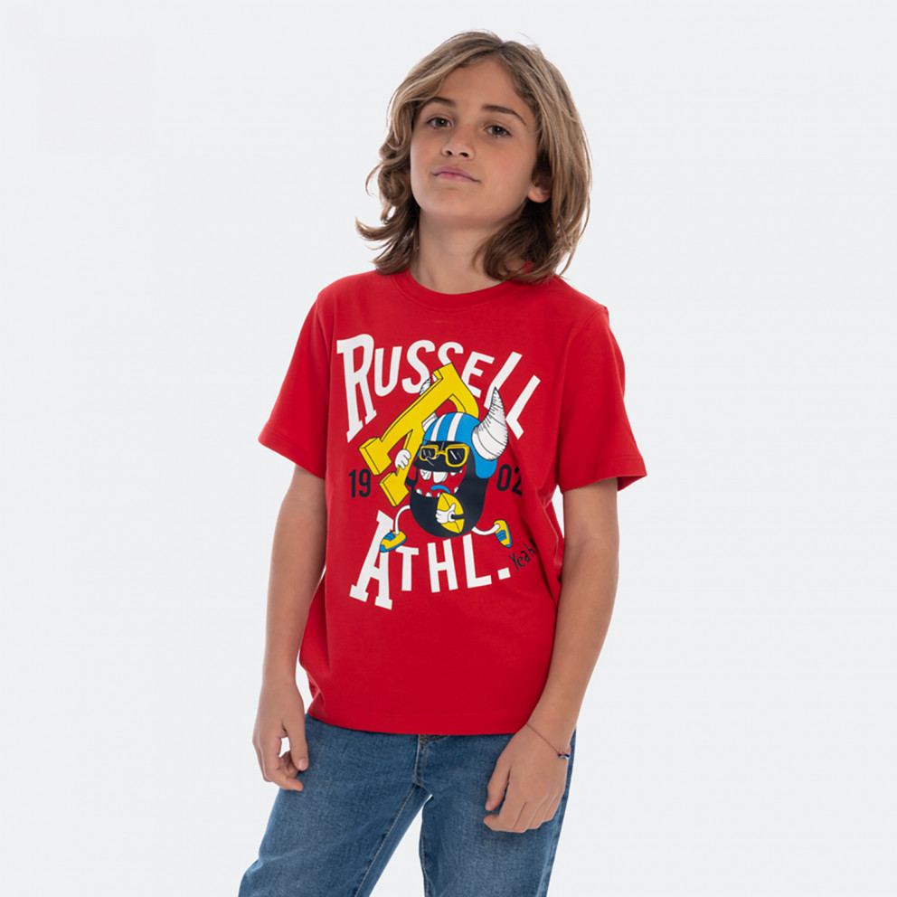 Russell Athletic Sporting Rugby Bean Kids' Tee