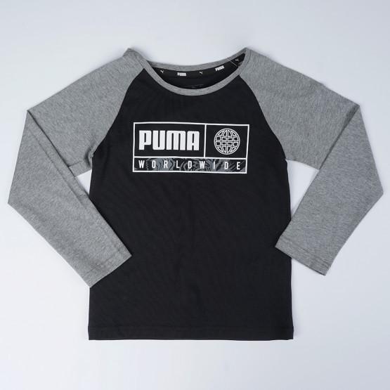 Puma Alpha Graphic Boys' LongsLeeve