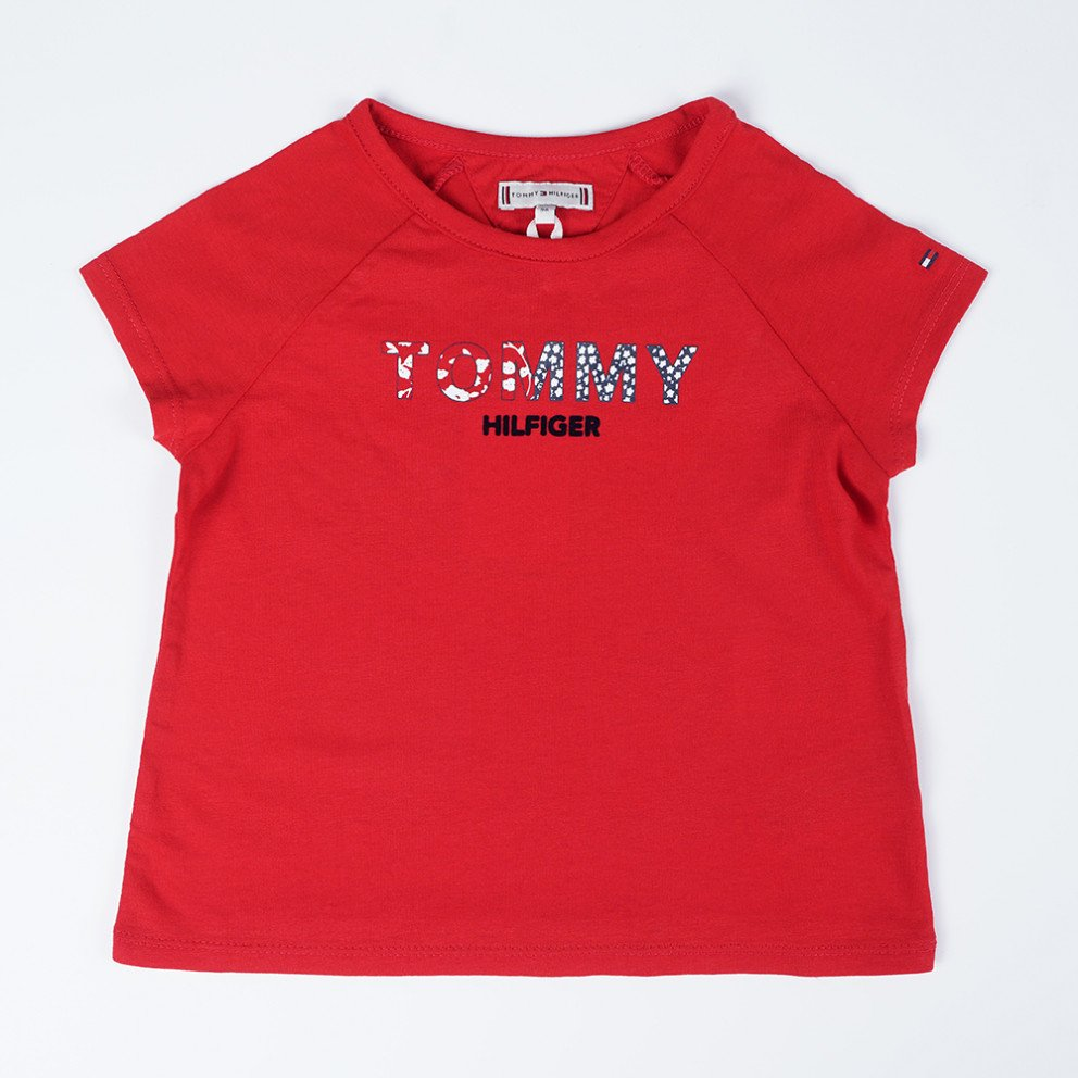 Tommy Jeans Floral Logo Infants' T-Shirt