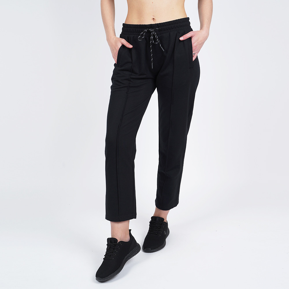 Body Action Women's Cropped Track Pants (9000050089_1899)