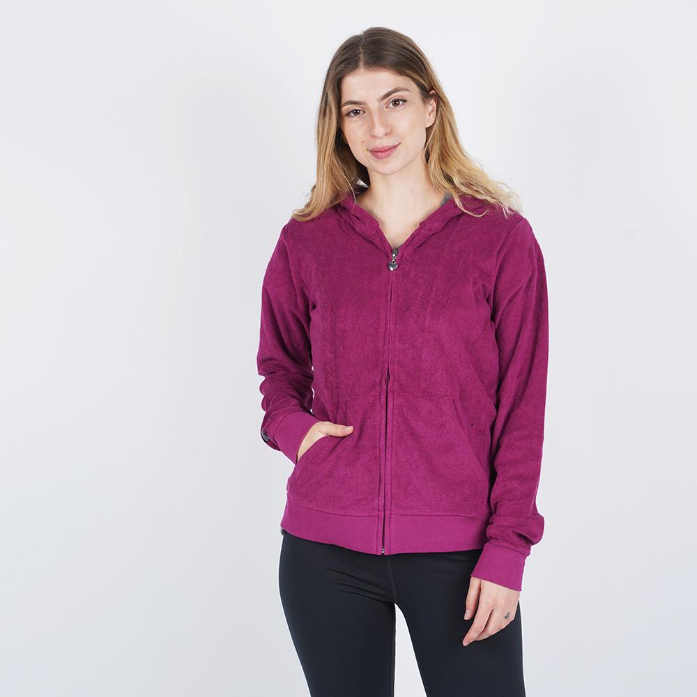 Body Action Women's Hoodie Jacket (9000050125_1893)