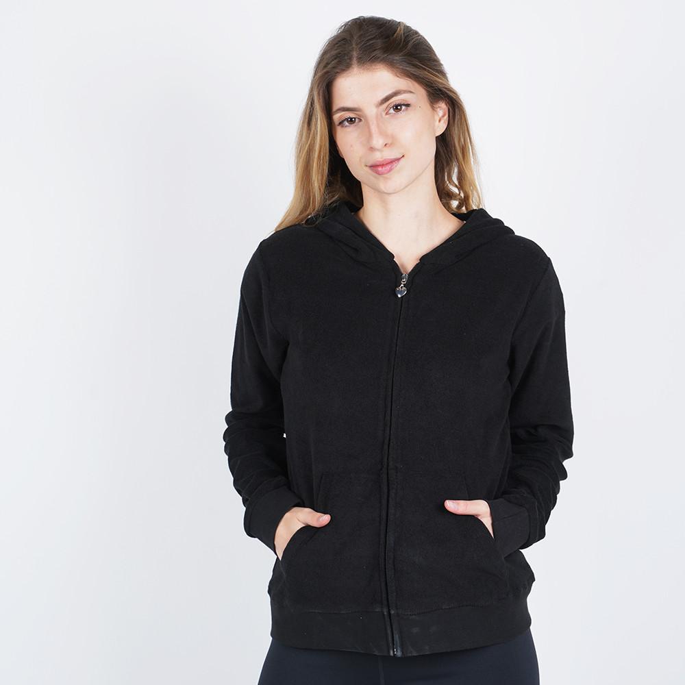 Body Action Women's Hoodie Jacket (9000050125_1899)
