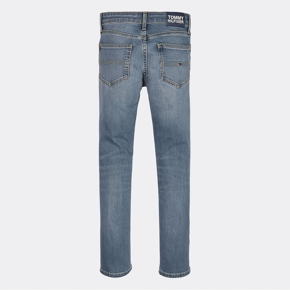 Temblar Higgins carril  Tommy Jeans SCANTON SLIM BRINBST BRINE BLUE STRETCH KB0KB05564-1A6
