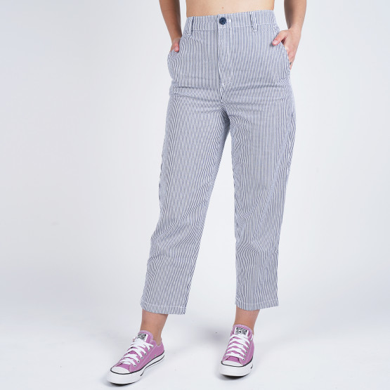Tommy Jeans Women'S Stripe High Rise Straight Jeans