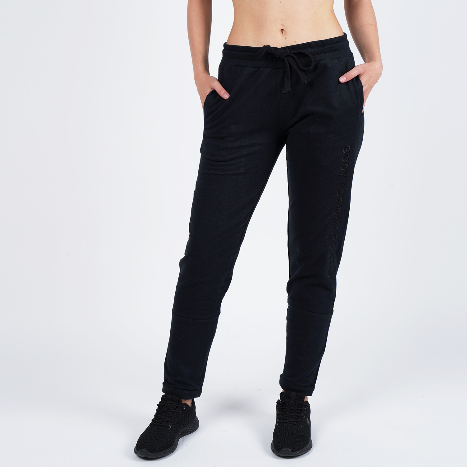 Body Action Women's Skinny Joggers (9000050087_1899)
