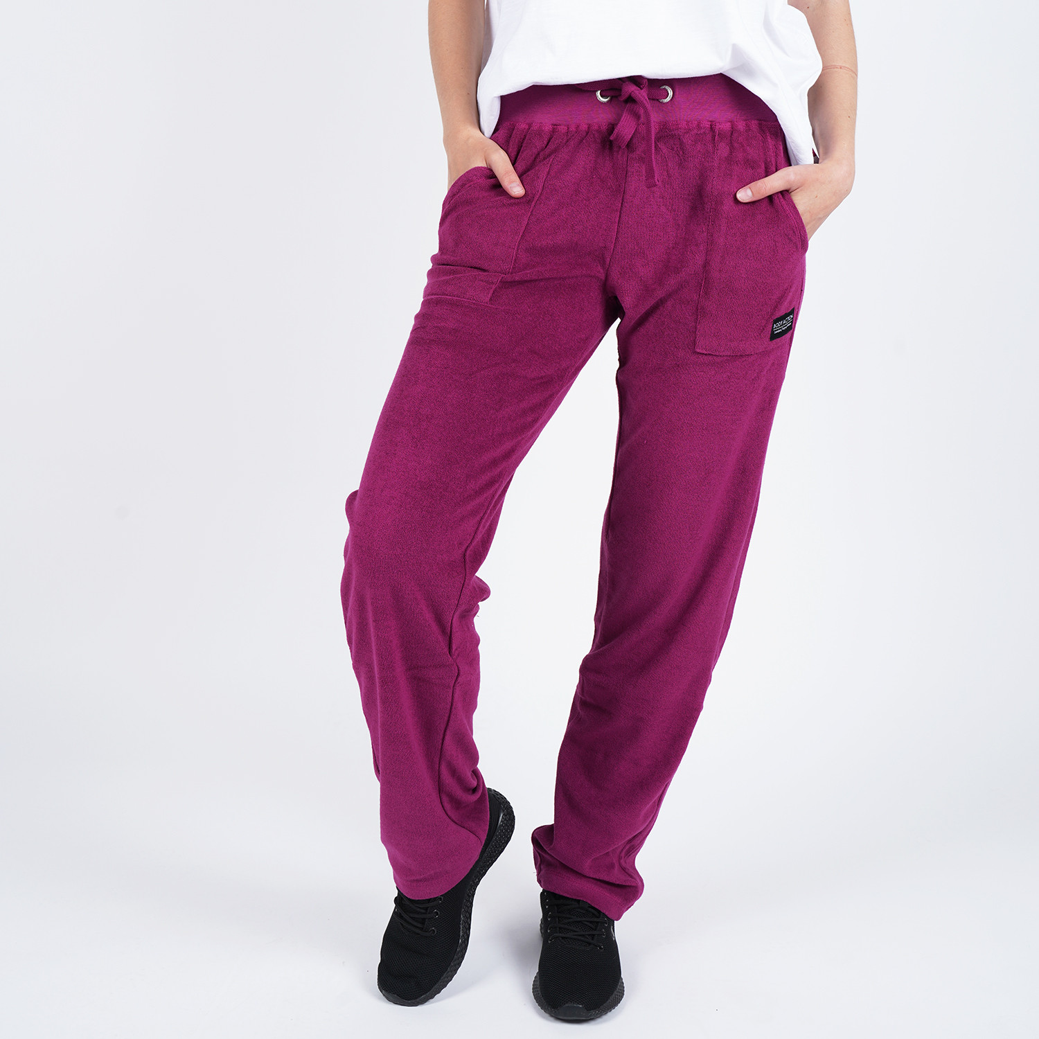 Body Action Women's Basic Terry Pants (9000050088_1893)