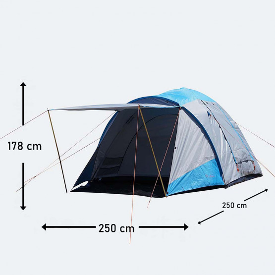 Escape Peak V Camping Tent Fits 5 People