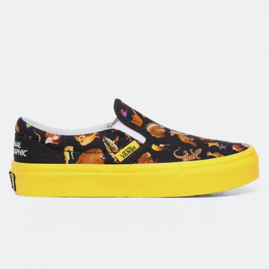 Vans x National Geographic Jn Classic Slip-On Γυναικείο Παπούτσι