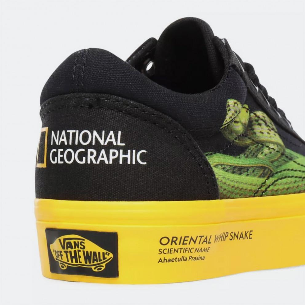 Vans X National Geographic Uy Old Skool Kid's Shoes