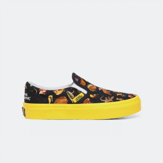 Vans x National Geographic Uy Classic Slip-On Παιδικό Παπούτσι