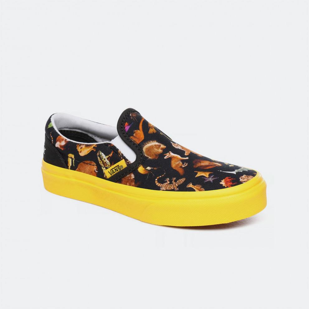 Vans x National Geographic Uy Classic Slip-On Kid Shoe