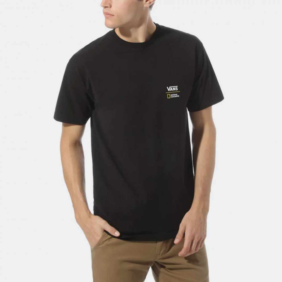 Vans x National Geographic Gl Black Men's T-Shirt