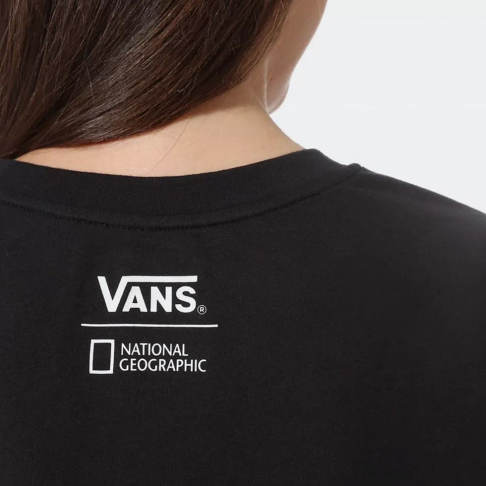 Vans x National Geographic Rollout Black Γυναικεία Μπλούζα