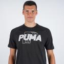 Puma Modern Sports Logo Tee Ανδρική Μπλούζα